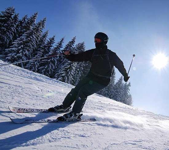 Skiing Sugarloaf Mountain